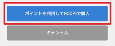 「ポイントを利用してXXX円で購入」ボタンを押してチケットを発行