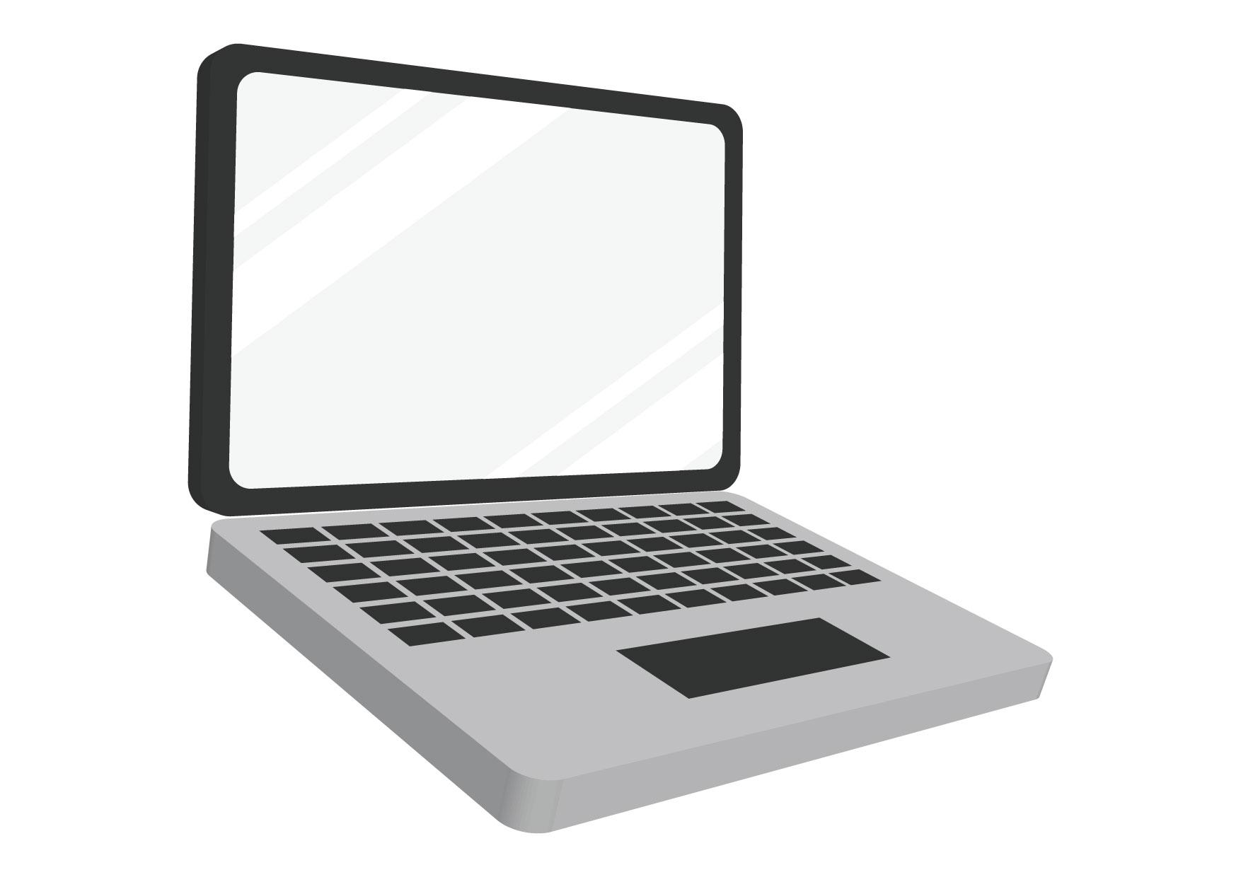 パソコンのイラスト
