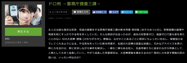 ドロ刑 -警視庁捜査三課-