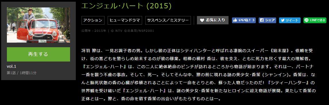 エンジェル・ハート (2015)あらずじ
