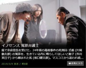 イノセンス免罪弁護士第8話