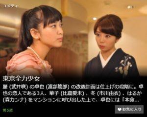 東京全力少女第5話