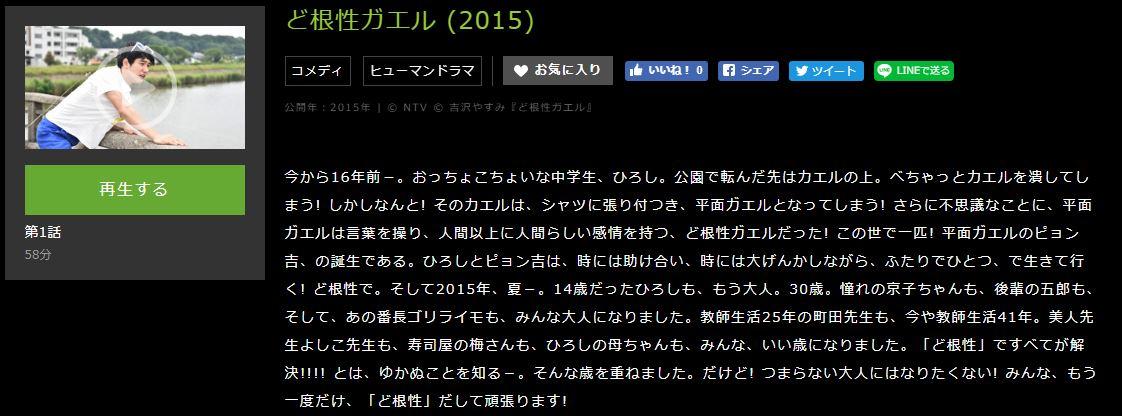 ど根性ガエル (2015)あらすじ