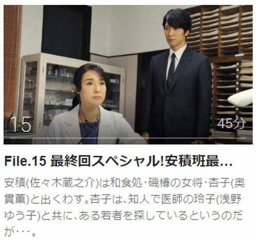 ハンチョウ 〜神南署安積班〜第15話