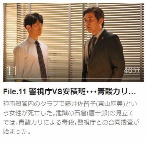 ハンチョウ3~神南署安積班~第11話