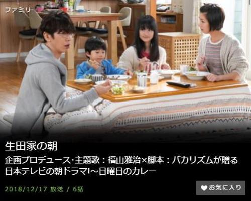 生田家の朝第6話