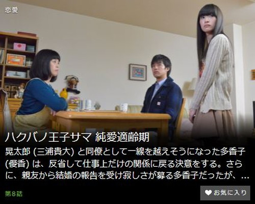 ハクバノ王子サマ 純愛適齢期第8話
