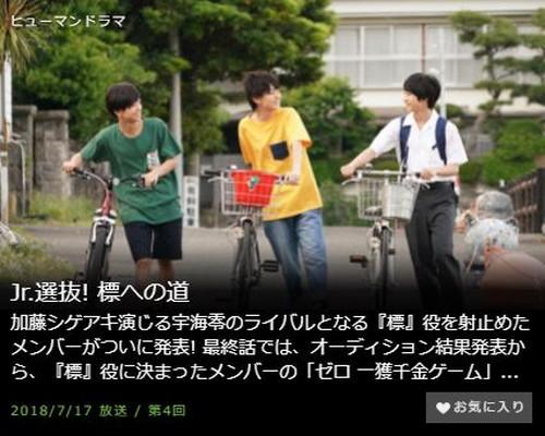 Jr.選抜! 標への道第4話