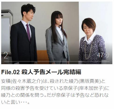 ハンチョウ5 〜警視庁安積班〜第2話