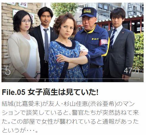 ハンチョウ5 〜警視庁安積班〜第5話