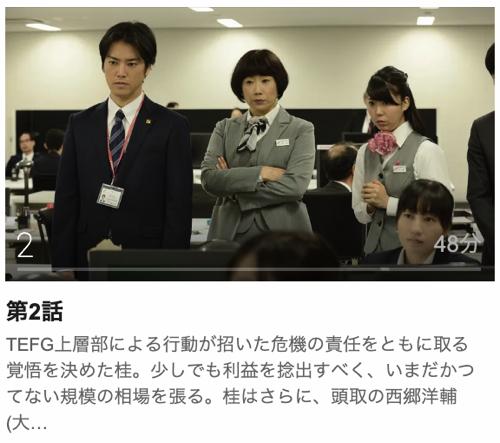 メガバンク最終決戦第2話