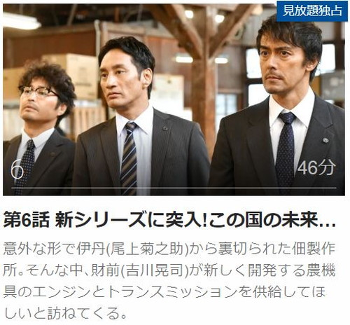 下町ロケット(2018)第6話