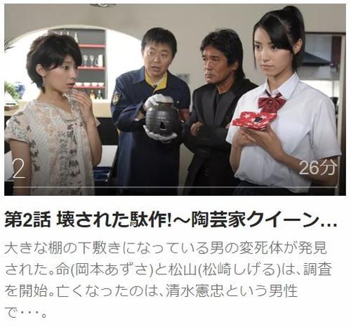ケータイ刑事 銭形命第2話
