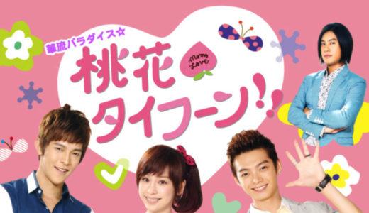 「桃花タイフーン!!」の台湾ドラマを見れる動画配信サイトは?全話無料でお試し視聴する方法!(第1話~20話<最終回>まで)