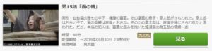 鬼平犯科帳 第2シリーズ第15話