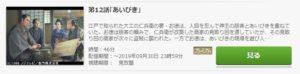 鬼平犯科帳 第7シリーズ第12話