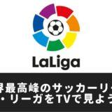 2019-2020/リーガ・エスパニョーラ(ラ・リーガ)放送試合(中継)をテレビで見る方法
