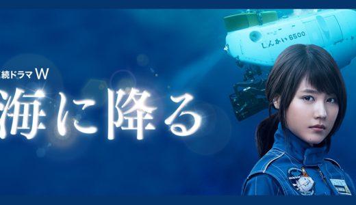 「海に降る」のドラマを見れる動画配信サイトは?全話無料でお試し視聴する方法!(第1話~6話<最終回>まで)