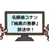 名探偵コナン 純黒の悪夢(ナイトメア)を見れる動画配信サイト
