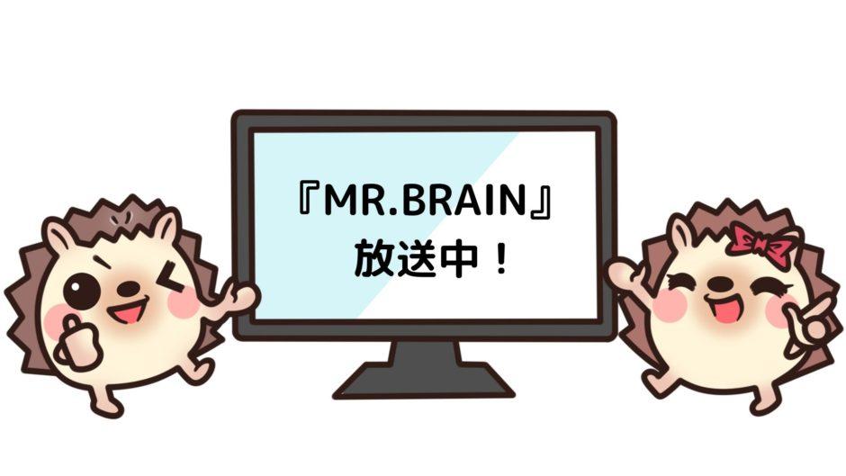 MR.BRAINを見れる動画配信サイト